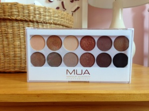 MUA Undress Me Too Eyeshadow Palette Review