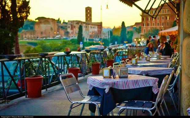 Rome, Italy. Copyright by Moyan Brenn