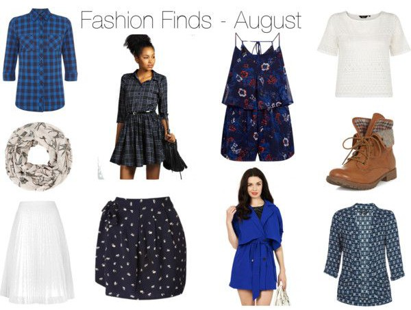 Fashion Finds August