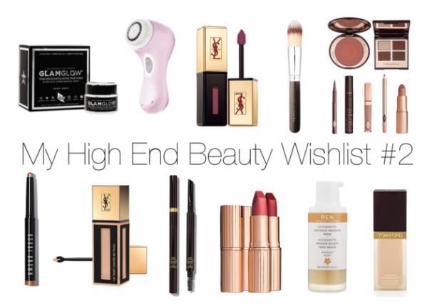 My High End Beauty Wishlist #2