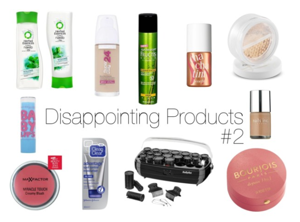 Disappointing Products #2